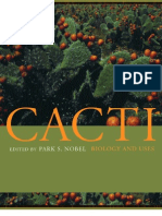 Cacti. Biology and Uses
