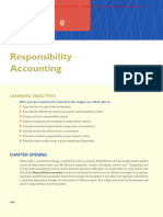 10. Chapter 9 - Responsibility Accounting