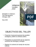 3. Panorama Caudales Ecologicos - Anderson