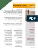 Itmadrid Curso Fundamentos Gestion Gerencia Del Cambio