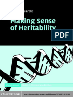Sesardic Neven -  Making Sense of Heritability