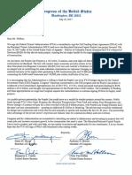 Team Maryland letter to FTA on Purple Line funding