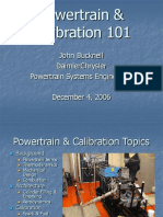 Power Train Calibration