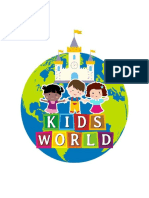 Publicidad Kids World.
