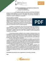 Tecnicas de Marinacion e Ingredientes a Utilizar en Los Productos Con Valor Agregado 2014