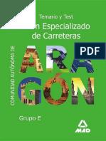 Temario Y Test Peon Especializado de Carreteras Escrito Por José Luis López Álvarez