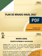 Plan de Minado Anual 2017-Presentación