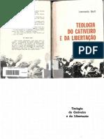 Boff, Leonardo - Teologia Do Cativeiro e Da Libertação