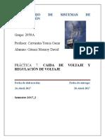 Practica 7 Regulacion de Voltaje