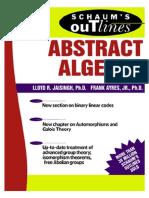 Abstract algebra - schaum.pdf
