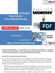 Oracle PBCS Driver Base Planning