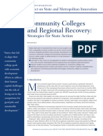 Brookings Institute - Community College Economy Recovery 2011