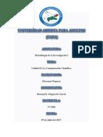 Unidad II, Rosanyely Altagracia Garcia, Matrciula 17-5266