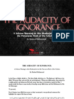 The Audacity of Ignorance - A Warning to Abu Khadeejah By Shadeed Muhammad