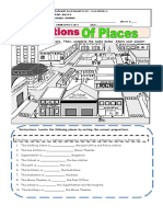 Guia 8 Places and Prepositions 3 Term