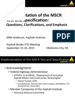 02 MAnderson MSCR Implementation