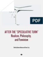 Kolozova Joy Eds After the Speculative Turn Realism Philosophy and Feminism 2016