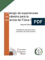 Catalogo Experiencias de Catedra 2edicion 2013