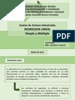 Aval Activos Industriales - Regresion Lineal
