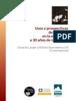 Usos y Prospectivas de Foucault