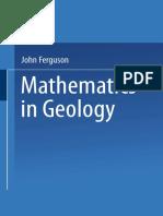 John Ferguson (Auth.)-Mathematics in Geology-Springer Netherlands (1988)