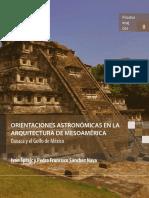 Orientaciones Astronómicas en la Arquitectura de Mesoamerica