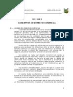 Origen Del Derecho Comercial en El Peru