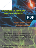 sindrome de neurona motora superior