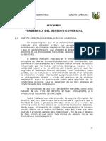 Tendencias Del Derecho Comercoal en El Peru