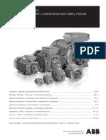 ABB - Low Voltage Motors. Manual de Instalacion, funcionamiento, mantenimiento y seguridad. 2016.pdf
