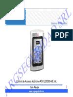 Manual ZD2000