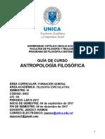 Antropología Filosófica - LAR II-2017