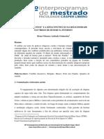 """""""PORTA DOS FUNDOS"""" E A (DES)CONSTRUÇÃO DA RELIGIOSIDADE   EM VÍDEOS DE HUMOR NA INTERNET    Bruno Menezes Andrade Guimarães"""