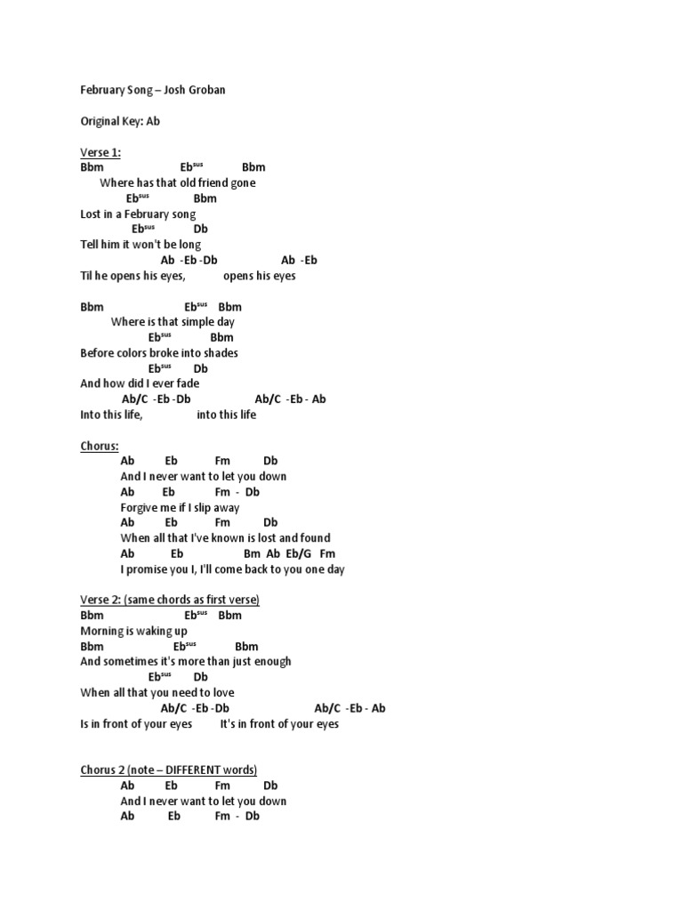 Beautiful Song 2 Chords Component Beginner Guitar Piano Chords