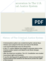 mass incarceration in the criminal justice system