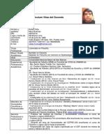 Curriculum Vitae Rafael Mora