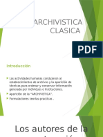 Archivistica clasica