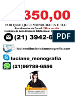 Monografia & tcc por R$350,00 na cidade de  canoas