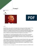 Qué Significa Trump