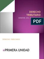 Derecho Tributario Nueva Curricula