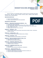 3-Microsoft Excel Nivel Intermedio V2010_24 Hrs