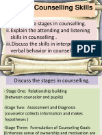 Topic 5 (1) Basic Counselling Skills