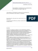 Interrelación Del Equlibrio Tromboxano A2 Prostaciclina y Su Modificación Cuando Se Ingiere Aspirina