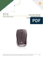 User Manual BT8