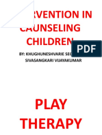 Topic 6 Intervention in Counselling Children (1)