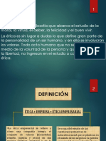ÉTICA EMPRESARIAL PPT.ppt