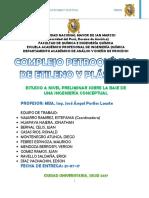 Complejo Petroquimico de Etileno y Plasticos