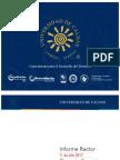Informe Rector U. de Caldas al Consejo Superior - 11 de Julio 2017