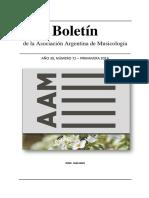 Asociacion Argentina de Musicologia- Boletín 72_primavera 2016