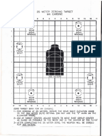 Alvo - Zeroing Target M4